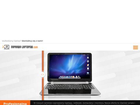 Naprawa laptopów po zalaniu - serwis laptopów