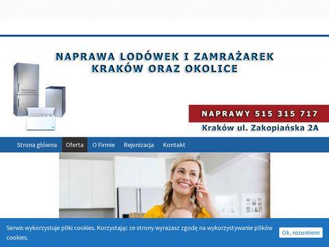 Naprawy lodówek oraz zamrażarek - Kraków
