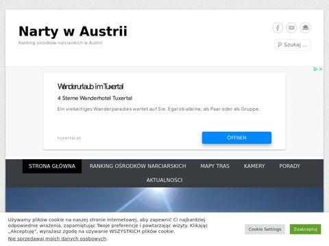 Narty w Austrii ranking ośrodków narciarskich