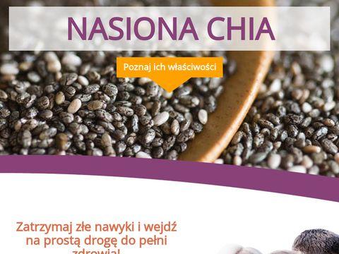 Nasionachia.pl zastosowanie nasion chia