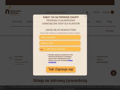 100% naturalne i zdrowe produkty - NaturalnieZdrowe.pl
