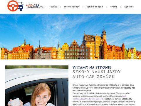 Auto-Car jazdy doszkalające nauki jazdy Gdańsk