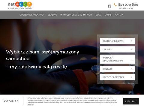 """Najtań""""szy kredyt samochodowy przez Internet"""