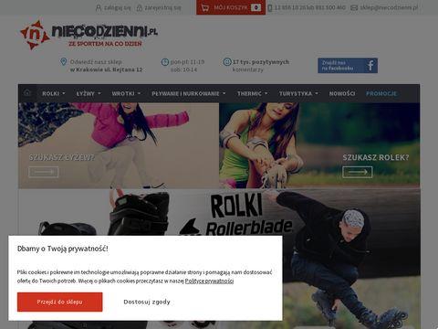 Internetowy sklep sportowy - niecodzienni.pl
