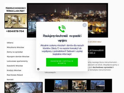 Dobre biuro nieruchomosci -www.nieruchomosci-wroclaw.net