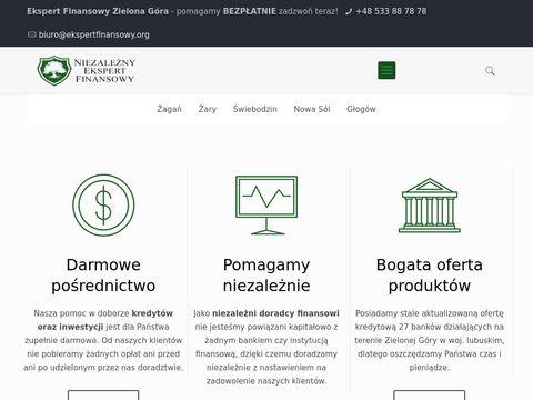Doradca Finansowy Zielona Góra - Kredyty i Inwestycje