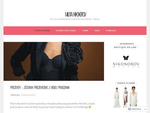 Blog projektantki mody