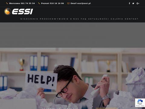 Http://niszczeniedokumentow.eu - profesjonalne niszczenie dokumentów