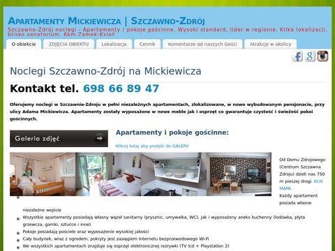 Pokoje gościnne Wałbrzych - Mickiewicza 31