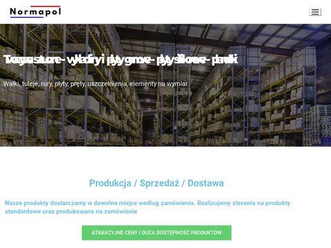 Wa艂ki teflonowe PTFE - normapol.pl