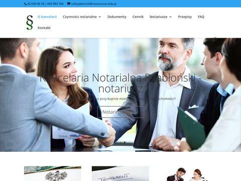 Akt notarialny przy kupnie mieszkania - notariusz 艁贸d藕