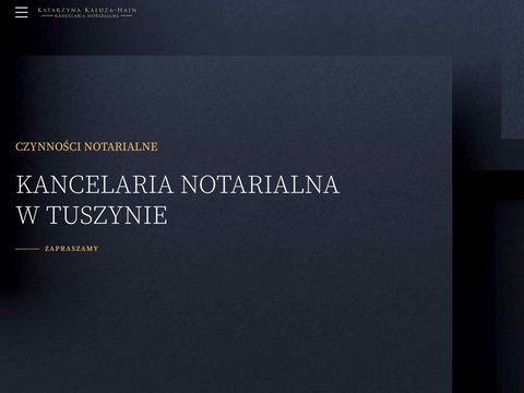 Notariusztuszyn.pl adwokat tuszyn