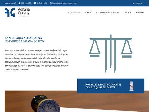 Notariusz Zabrze - notariuszzabrze.pl