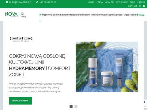 Nova Group - dystrybutor sprzÄ™tu fitness, spa & wellness