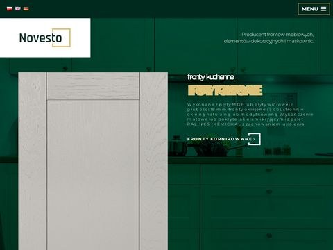 Novesto - Producent front贸w meblowych