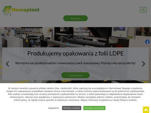 NOWAPLAST producent folii LDPE K艂odzko