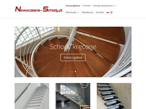 Nowczesne schody dla domu i firmy