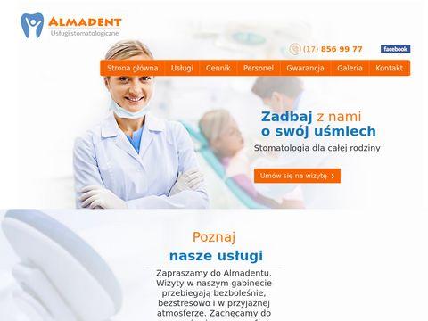 ALMADENT RZESZ脫W gabinet stomatologiczny rzesz贸w