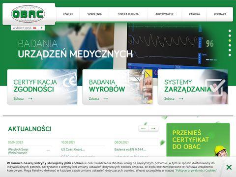 Certyfikacja produktów - obac.com.pl
