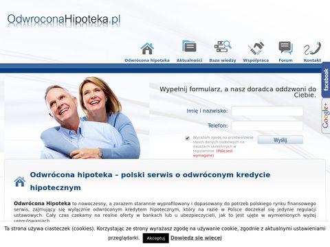 Odwroconahipoteka.pl - by senior był świadomy