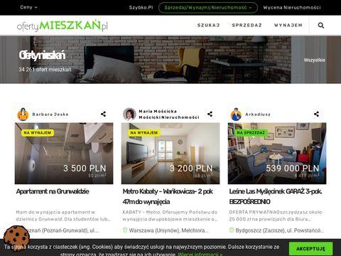 Oferty Mieszkan.pl - nieruchomoÅ›ci w internecie
