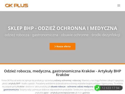 Odzież robocza, artykuły BHP Kraków – odzież ochronna, medyczna, gastronomiczna