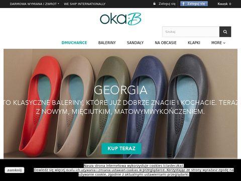 Oka-B – gumowe baleriny, meliski – zakupy w sklepie internetowym