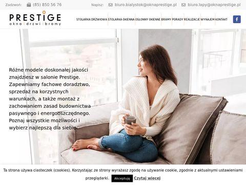Prestige - Okna i drzwi Białystok