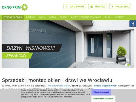 OKNO Prim Ogrodzenia wiśniowski Wrocław