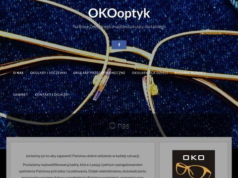 OKOoptyk Salon Optyczny z okularami. Wroc艂aw Kar艂owice.