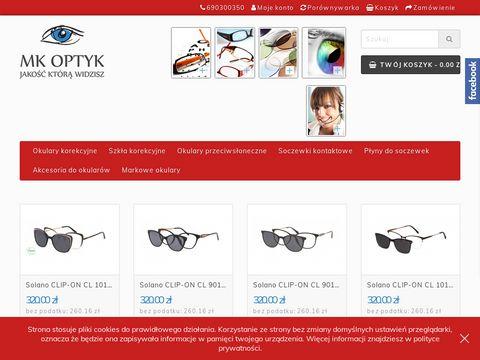 MK Optyk Kraków - Sklep internetowy - Okulary Kraków - Badanie wzroku Kraków