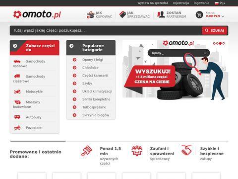 Omoto.pl giełda części