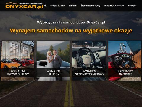OnyxCar - wypo偶yczalnia samochod贸w luksusowych