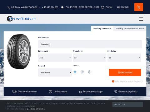 Oponytomy.pl hurtownia opon Krak贸w