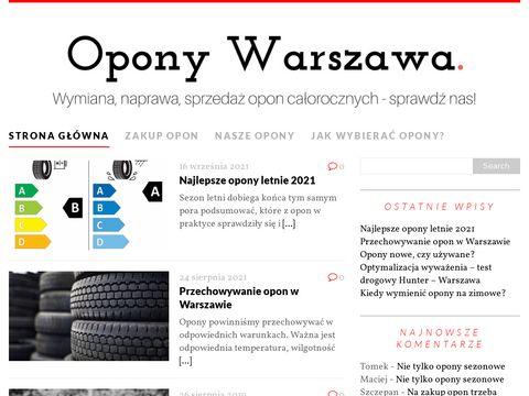 Oponywarszawa.net.pl