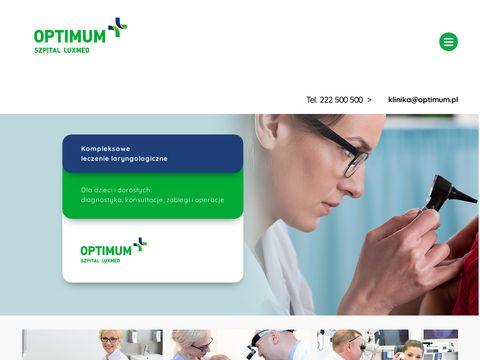 Klinika G艂owy i Szyi Warszawa | optimum.pl