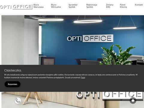 Wirtualne biura Warszawa - http://optioffice.pl
