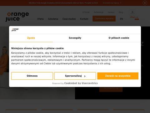 Szkolenia google analytics - Orangejuice.pl