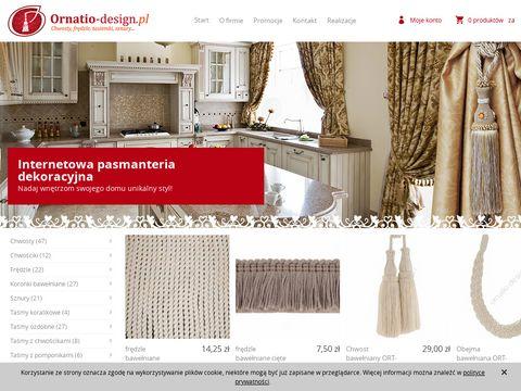 Ornatio-design.pl - Chwosty dekoracyjne