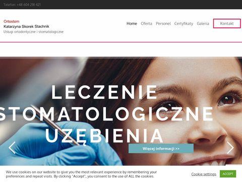 Ortodontatomaszowmazowiecki.pl