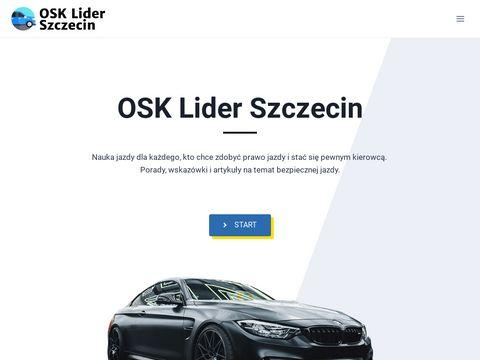 Prawo jazdy Szczecin na osk-lider-szczecin.pl
