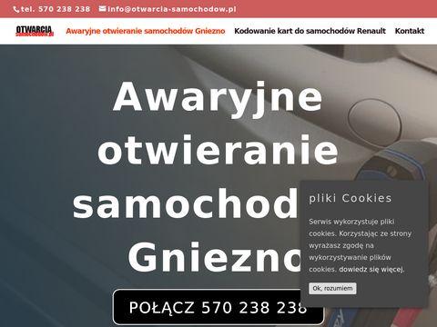 Awaryjne otwieranie samochodów Toruń, Bydgoszcz, Inowrocław tel.570238238