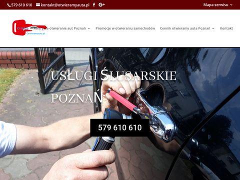 Awaryjne otwieranie samochod贸w Pozna艅  Tel. 579 610 610