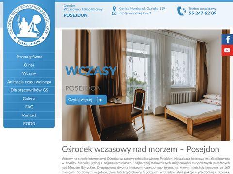 Www.owrposejdon.pl OÅ›rodek rehabilitacyjny