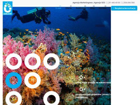 Agencja OXY Lublin - strony www