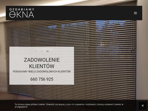 Rolety Warszawa - Ozdabiamy Okna