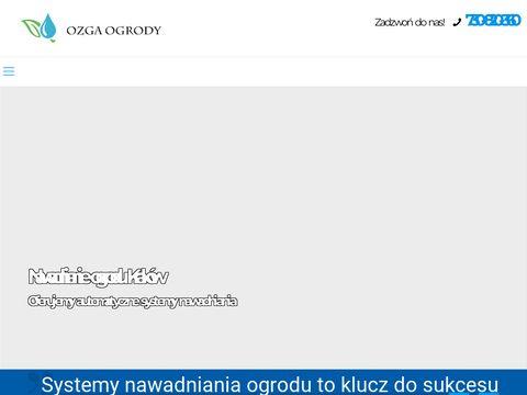 Zak艂adanie ogrod贸w Krak贸w - ozgaogrody.pl