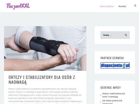 Sklep medyczny z akcesoriami dla pacjent贸w oty艂ych i z nadwag膮.