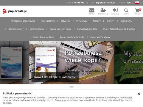 Artyku艂y papiernicze - Papier24h.pl