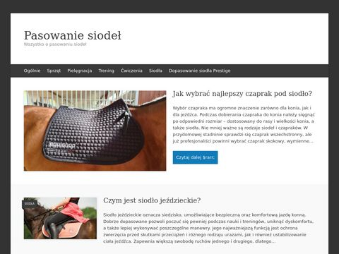 Blog jeździecki pasowaniesiodel.pl